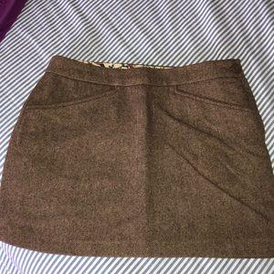 Gap tweed wool skirt size 4
